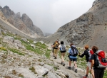 File indienne, Col de la Scaletta (1)