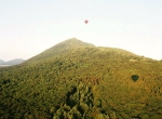 Vol en ballon, survol du Puy de Pariou