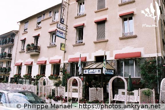 Logo Hôtel Le Charlet, La Bourboule (France)