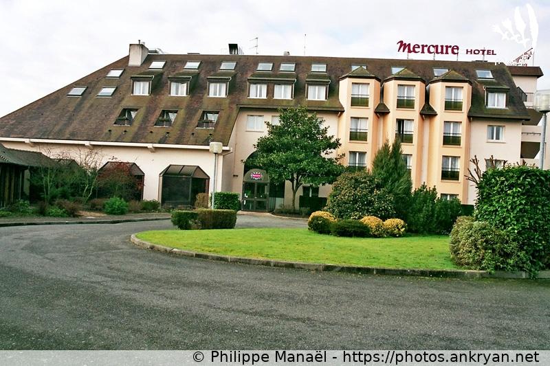 Logo Hôtel Les Jardins de Deauville, Saint-Martin-aux-Chartrains (France)
