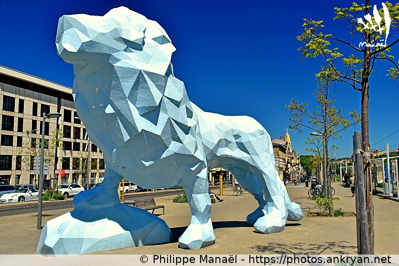 Le Lion de Veilhan (France / Ville / Bordeaux)