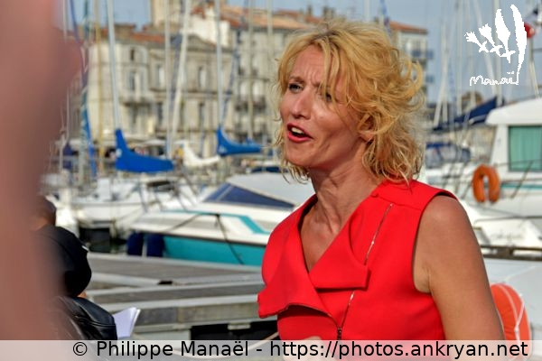Alexandra Lamy (2) (France / Festival / Fiction TV de La Rochelle 2015)