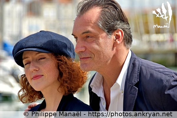 Blandine Bellavoir / Samuel Labarthe (France / Festival / Fiction TV de La Rochelle 2015)