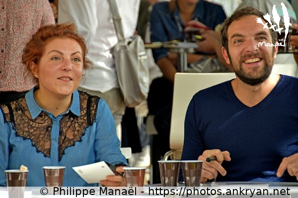 Anne-Élisabeth Blateau & David Mora (France / Festival / Fiction TV de La Rochelle 2015)