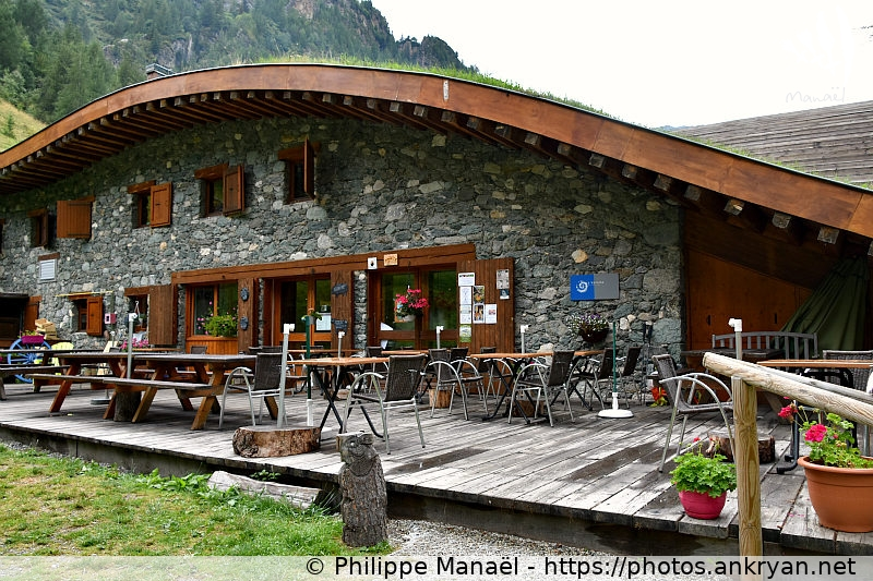 refuge porte de rosuel les hauts de la vanoise ankryan photos. Black Bedroom Furniture Sets. Home Design Ideas