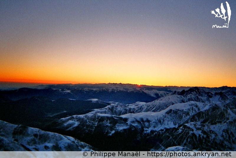 Pic du Midi : soleil levant, aurore