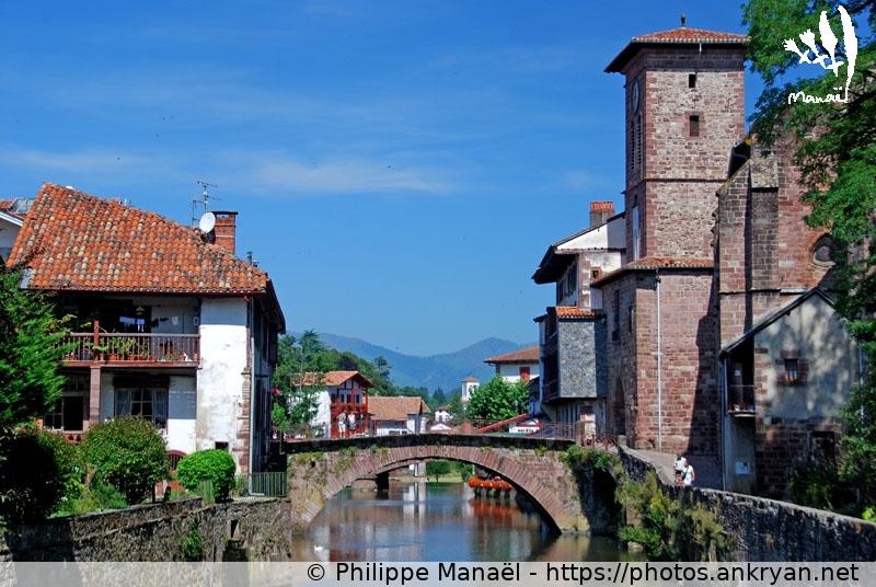 Pont romain sur la nive de b h robie saint jean pied de for Construction piscine saint jean pied de port