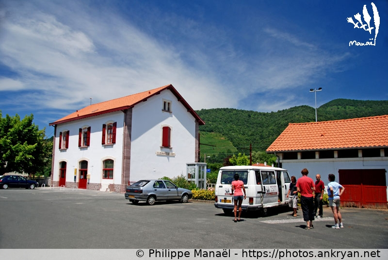 Gare ferroviaire saint jean pied de port ankryan photos - Train bayonne saint jean pied de port ...