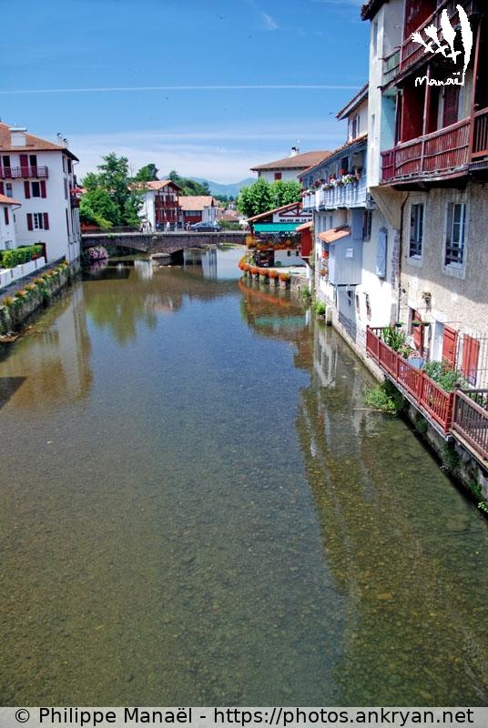 Nive de b h robie saint jean pied de port ankryan photos for Construction piscine saint jean pied de port
