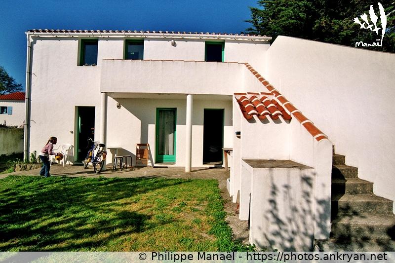 """Logo Maison d'hôtes """"Villa Crapouillot"""", Ile d'Yeu (France)"""