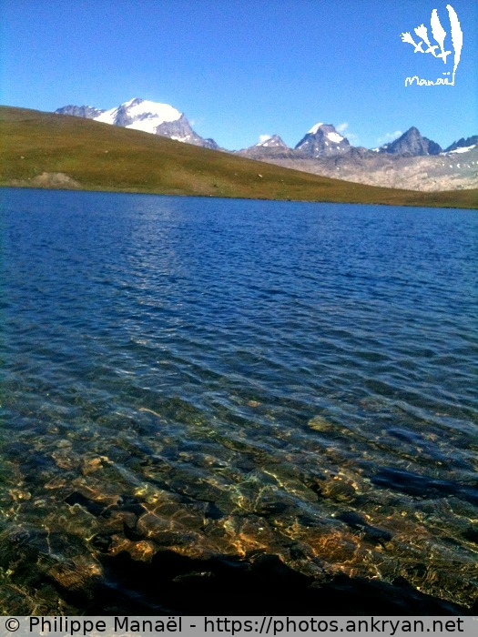 Lac Rosset : transparence (Italie / Massif du Grand Paradis)
