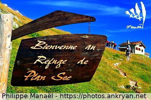 Logo Refuge de Plan Sec, Vanoise (France)